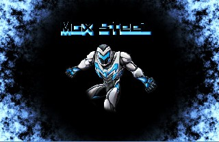 Max Steel 2013 blue dark neon