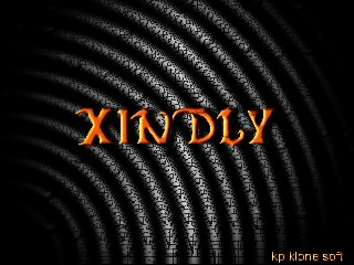 xindly font wallpaper by kp klone