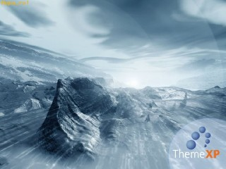 ThemeXP windows desktop wallpaper snow