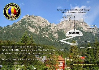 Romanian Alien Base Bucegi Mountains