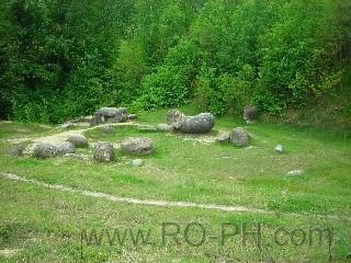 stone Trovantii VALCEA romania nature image