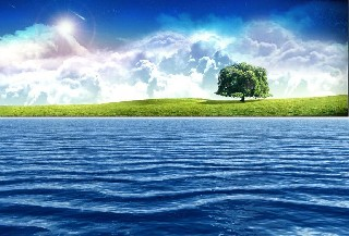 vista water wallpaper nature deviart