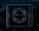 circle project wallpaper blue by kp andrew