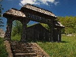 gate maramures nature wallpaper