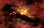Zonnestelsel ufo wallpaper